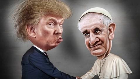 Znalezione obrazy dla zapytania pokojowy Trumpa w satyrze